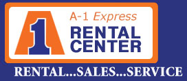 Truck Rentals Eau Claire - A-1 Express Rental Center Logo
