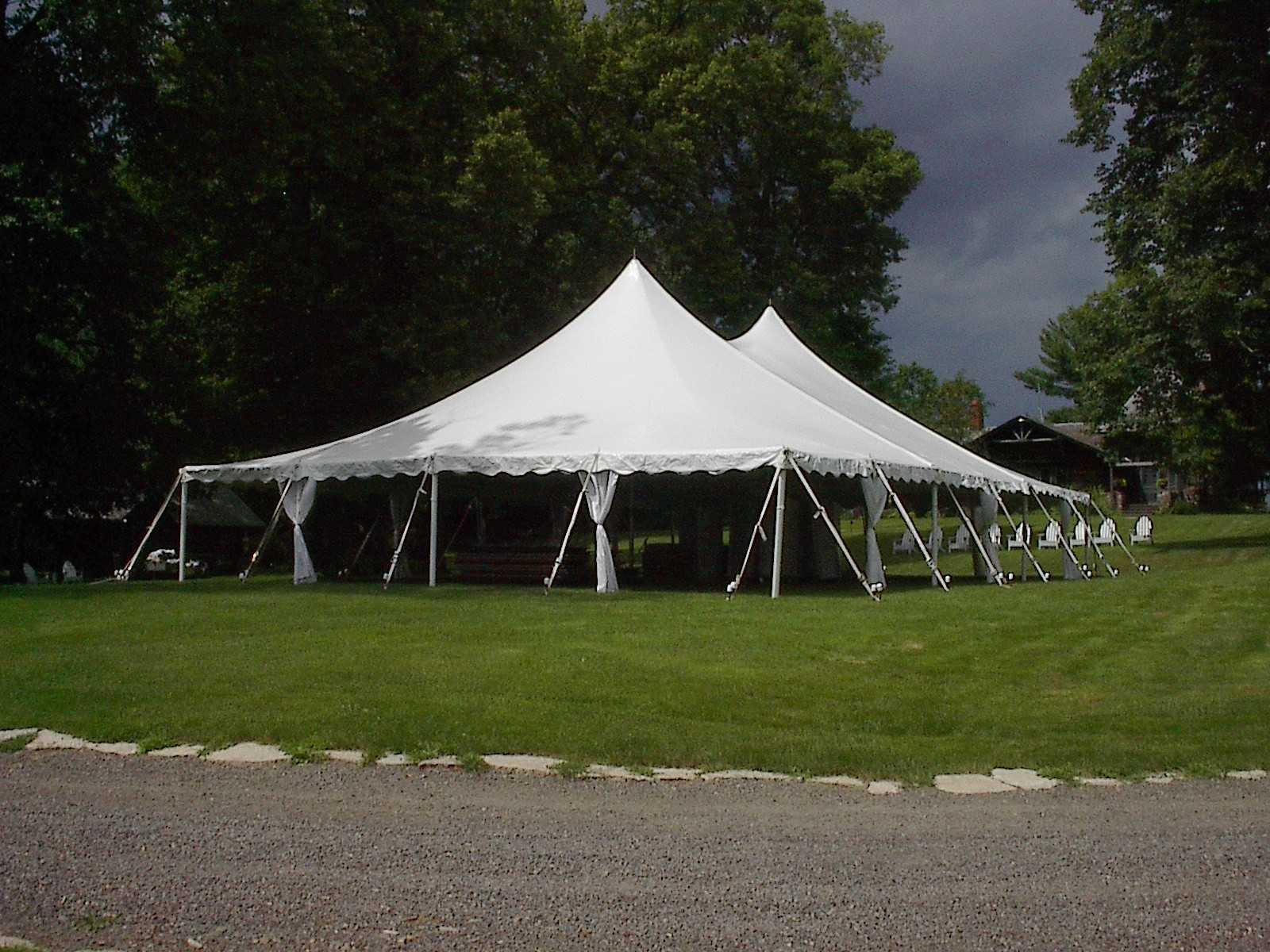 & Eau Claire A-1 Express Rental Center - 40u0027 x 80u0027 Century Pole Tent